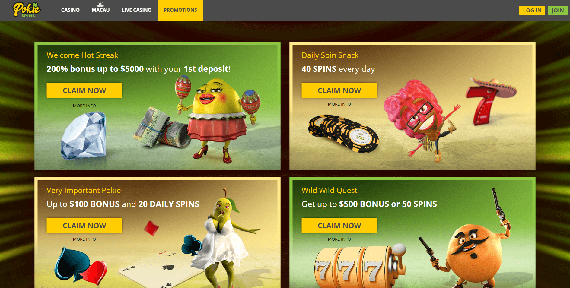 What Is Pokie Spins login Get Guided